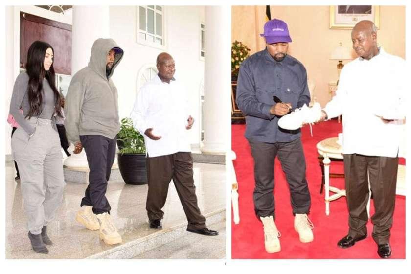 Kim-Kardashian-and-Kanye-West-meet-president-of-Uganda-lailasnews