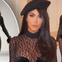 Kim Kardashian West Denies Fashion Feud with Naomi Campbell