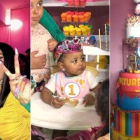 Flashback To Kulture's First Birthday Party